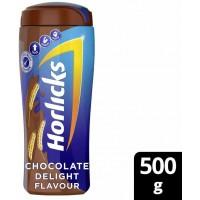 Horlicks Chocolate Delight Flavour, 500 Gram